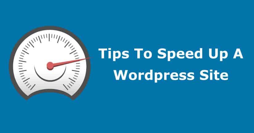 Speeding Up WordPress From Slow Dog To Speed Machine!