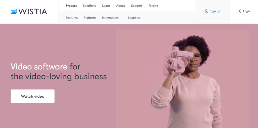 Wistia has become a popular video hosting site among business owners