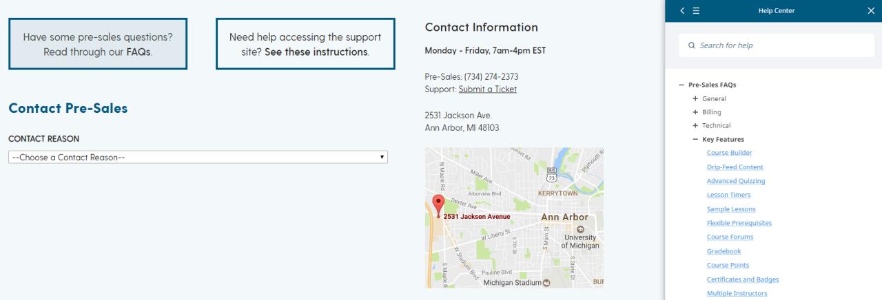 Both Lifter & LeanDash offer great documentation