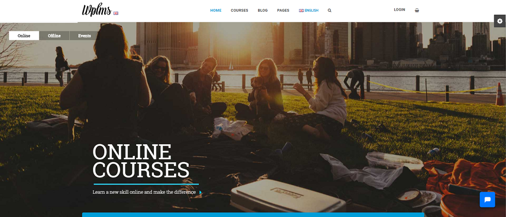WPLMS is a complete LMS theme that online course instructors
