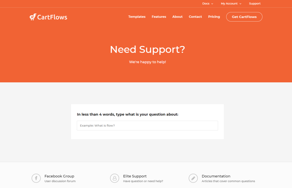 Support and Documentation