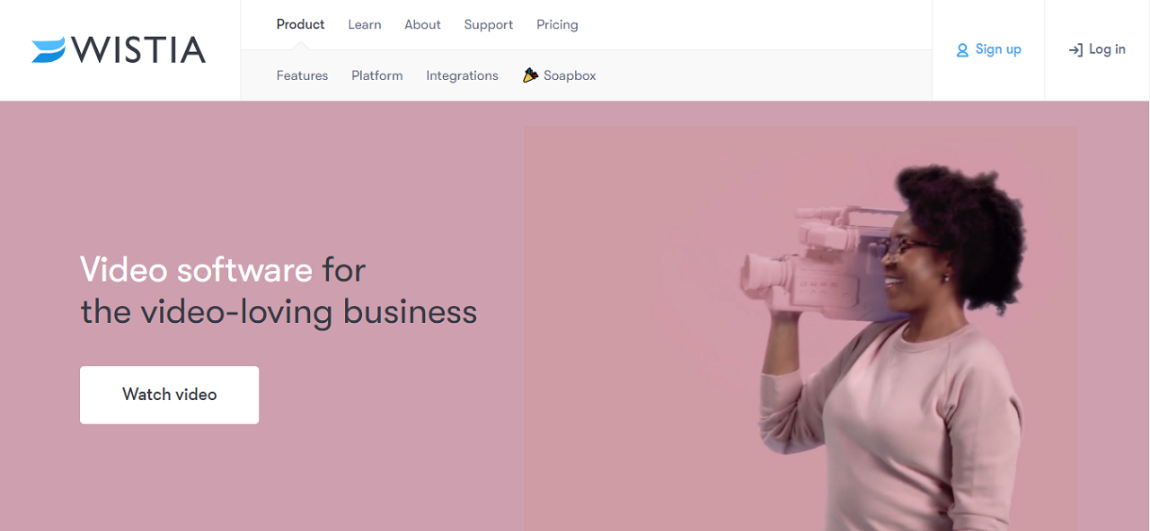 Wistia is the perfect video hosting platform for online course creators who are serious about selling their courses online.