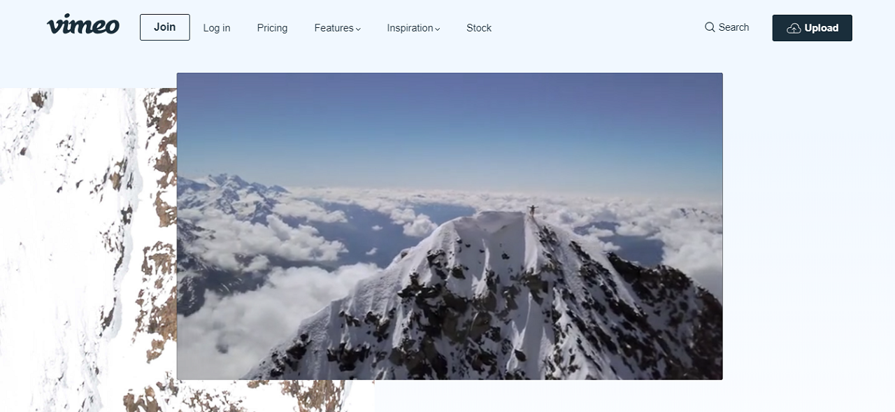 Vimeo offers you a simple yet professional interface to host your online video courses