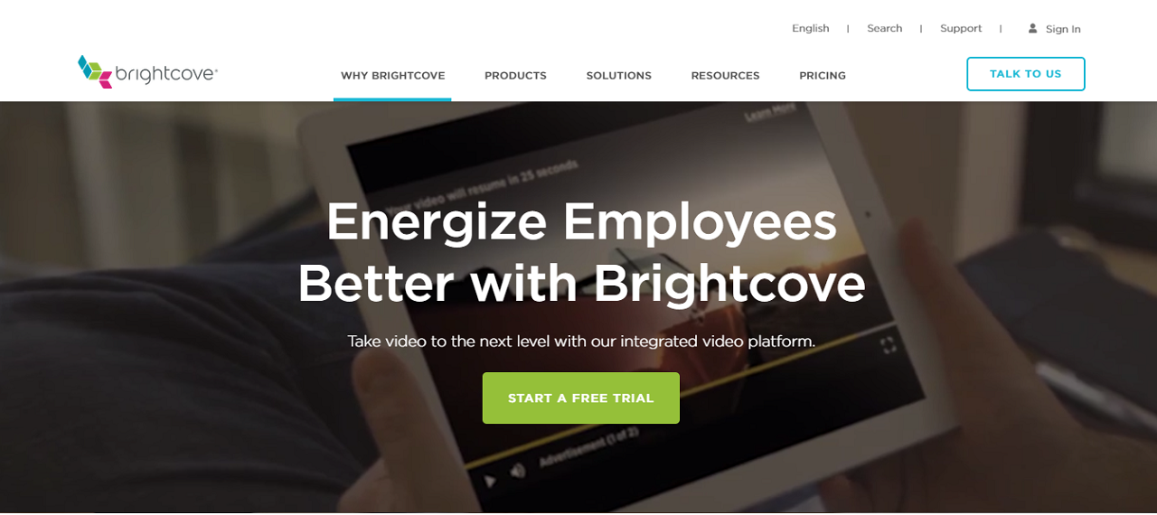 Brightcove is a business-centric video hosting solution that's perfect for online course creators