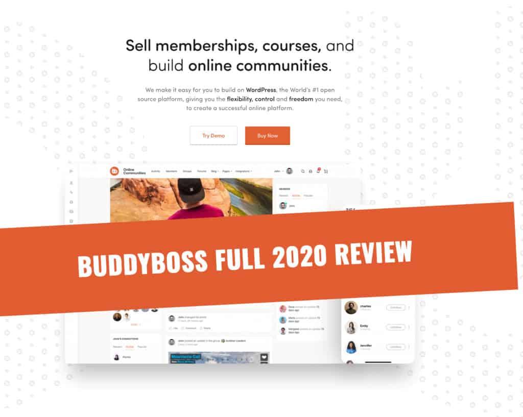 BuddyBoss Full 2020 Review