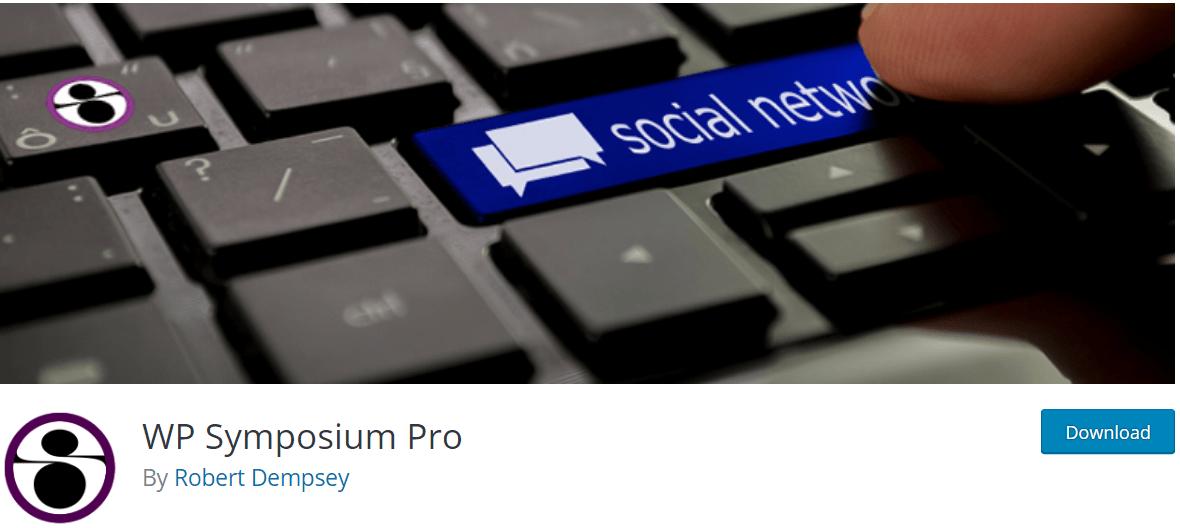 WP Symposium Pro