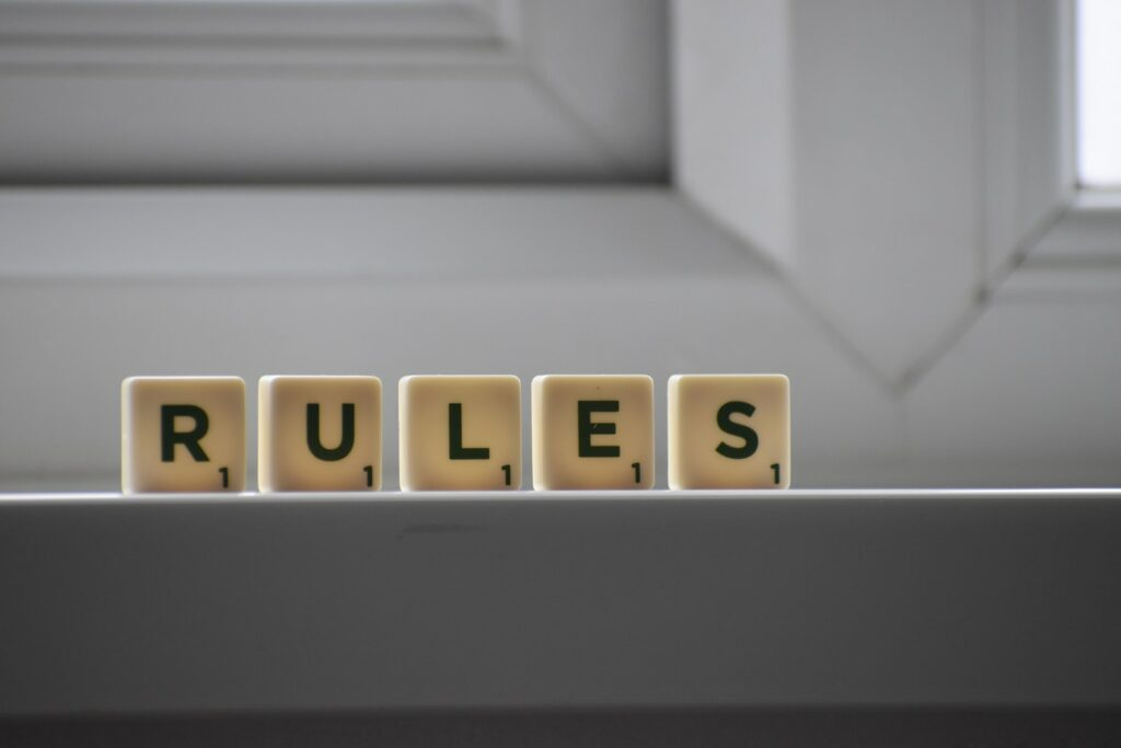 Create standard rules for the group
